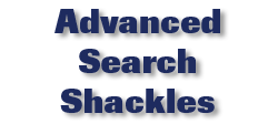 Advanced Search Shackles